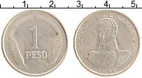 Изображение Монеты Колумбия 1 песо 1979 Медно-никель XF Симон Боливар