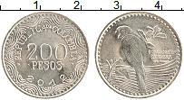 Изображение Монеты Колумбия 200 песо 2012 Медно-никель UNC-