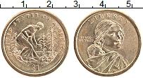 Изображение Монеты США 1 доллар 2009 Латунь UNC-