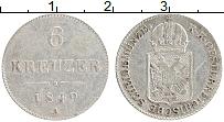 Изображение Монеты Австрия 6 крейцеров 1949 Серебро XF Герб А
