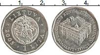 Изображение Монеты Литва 1 лит 2005 Медно-никель UNC- Дворец правителей Ве