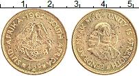 Изображение Монеты ЮАР 1/2 цента 1962 Латунь UNC-