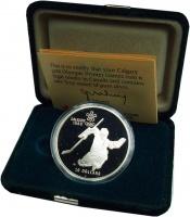 Изображение Подарочные монеты Канада 20 долларов 1986 Серебро Proof
