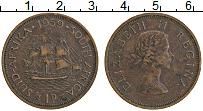Изображение Монеты ЮАР 1 пенни 1959 Бронза XF Елизавета II