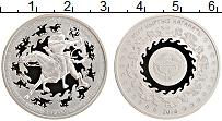 Изображение Монеты Киргизия 1 сом 2016 Медно-никель Proof Эпоха Кыргызского ка