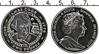 Изображение Монеты Сендвичевы острова 2 фунта 2007 Медно-никель UNC