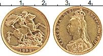 Изображение Монеты Австралия 1 соверен 1892 Золото XF+