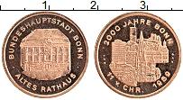 Изображение Монеты Германия Жетон 1989 Медь XF 2000 лет Бонну