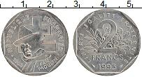 Изображение Монеты Франция 2 франка 1993 Медно-никель UNC-