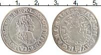 Изображение Монеты Венгрия 6 крейцеров 1669 Серебро VF+ Леопольд I (КВ)