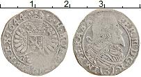 Изображение Монеты Чехия 3 крейцера 1644 Серебро XF-
