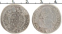 Изображение Монеты Чехия 3 крейцера 1695 Серебро XF- г.Оломоуц (SAS)