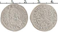 Изображение Монеты Австрия 3 крейцера 1634 Серебро XF- Штирия. Фердинанд II