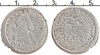 Изображение Монеты Австрия 6 крейцеров 1677 Серебро XF- Леопольд I