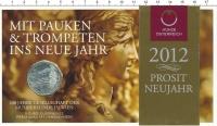 Изображение Подарочные монеты Австрия 5 евро 2012 Серебро UNC