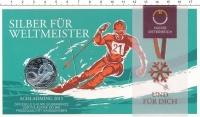 Изображение Подарочные монеты Австрия 5 евро 2013 Серебро UNC