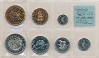 Изображение Подарочные монеты Новая Зеландия Набор 1965 года 1965  UNC