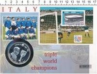 Изображение Подарочные монеты Теркc и Кайкос 20 крон 1993 Серебро Proof