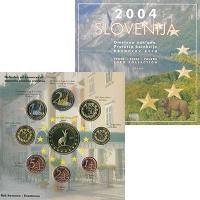 Изображение Подарочные монеты Словения Евро-модель 2004  UNC