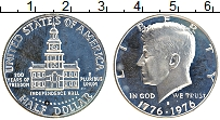 Изображение Монеты США 1/2 доллара 1976 Серебро Proof-