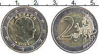 Изображение Монеты Монако 2 евро 2012 Биметалл UNC Князь Альберт II