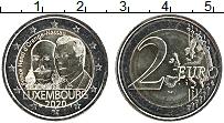Изображение Мелочь Люксембург 2 евро 2020 Биметалл UNC 200 лет со дня рожде