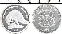 Продать Монеты Буркина Фасо 500 франков 2016 Серебро