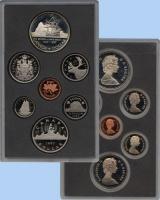Изображение Подарочные монеты Канада Памятный набор 1987 года 1987  Proof