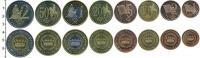 Изображение Наборы монет Дания Европроба 2003 2003  UNC