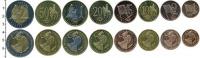 Изображение Наборы монет Великобритания Европроба 2003 2003  UNC