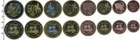 Изображение Наборы монет Литва Европроба 2003 2003  UNC