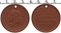 Изображение Монеты ГДР Медаль 0 Фарфор UNC Иоганн Фридрих Бёттг
