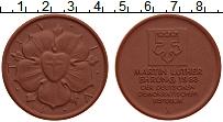 Изображение Монеты ГДР Медаль 1983 Фарфор UNC