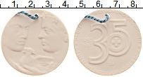 Изображение Монеты ГДР Медаль 1987 Фарфор UNC