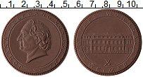 Изображение Монеты ГДР Медаль 0 Фарфор UNC
