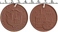 Изображение Мелочь ГДР Медаль 1983 Фарфор UNC