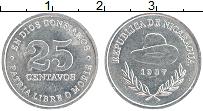 Изображение Монеты Никарагуа 25 сентаво 1987 Алюминий XF