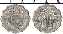 Изображение Монеты Ирак 10 филс 1971 Медно-никель XF