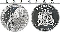 Изображение Монеты Барбадос 1 доллар 2020 Серебро UNC