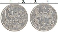 Продать Монеты Данциг 1 гульден 1923 Серебро