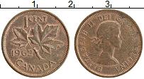 Изображение Монеты Канада 1 цент 1962 Бронза XF