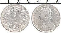 Изображение Монеты Британская Индия 1 рупия 1862 Серебро VF