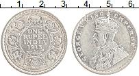 Изображение Монеты Британская Индия 1 рупия 1913 Серебро XF