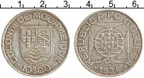 Изображение Монеты Мозамбик 10 эскудо 1936 Серебро XF-