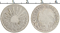 Изображение Монеты Мексика 1 реал 1856 Серебро VF+