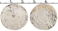Изображение Монеты Польша 6 грошей 0 Серебро VF Август III 1734-63 г