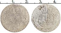 Изображение Монеты Польша 10 грошей 1812 Серебро VF