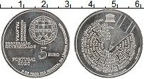 Изображение Мелочь Португалия 5 евро 2020 Медно-никель UNC Португальский язык