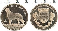 Продать Монеты Сен-Бартельми 1 франк 2020 Латунь