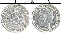 Изображение Монеты Гаити 10 центов 1894 Серебро XF Девушка